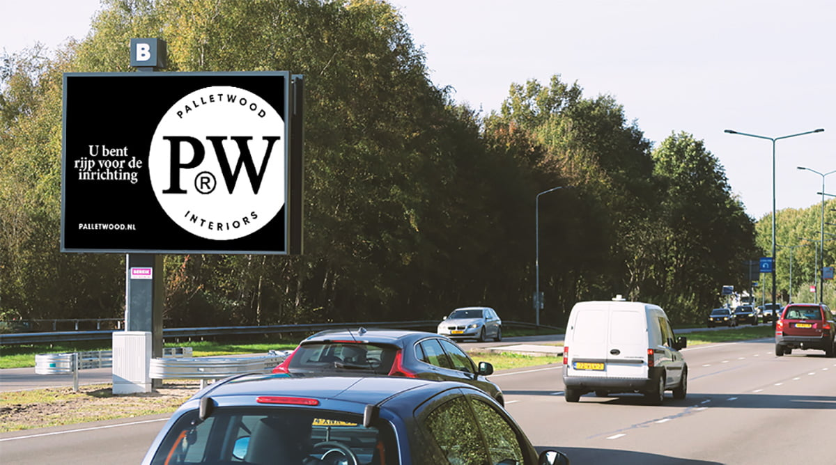 PalletWood - Back en Ruebweg - Breda