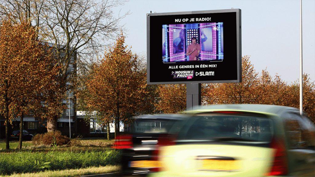 SLAM! zichtbaar op digitale billboards