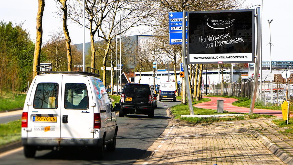 Adverteren in Alblasserdam - De helling