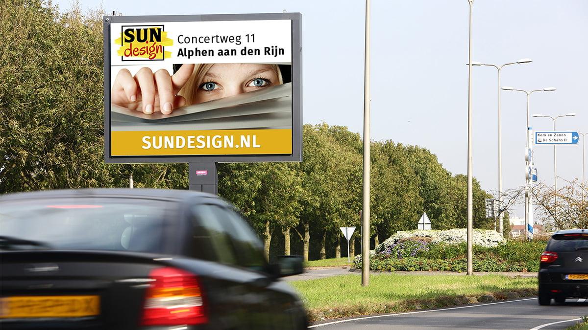 Adverteren in Alphen - Goudse Schouw - inkomend verkeer