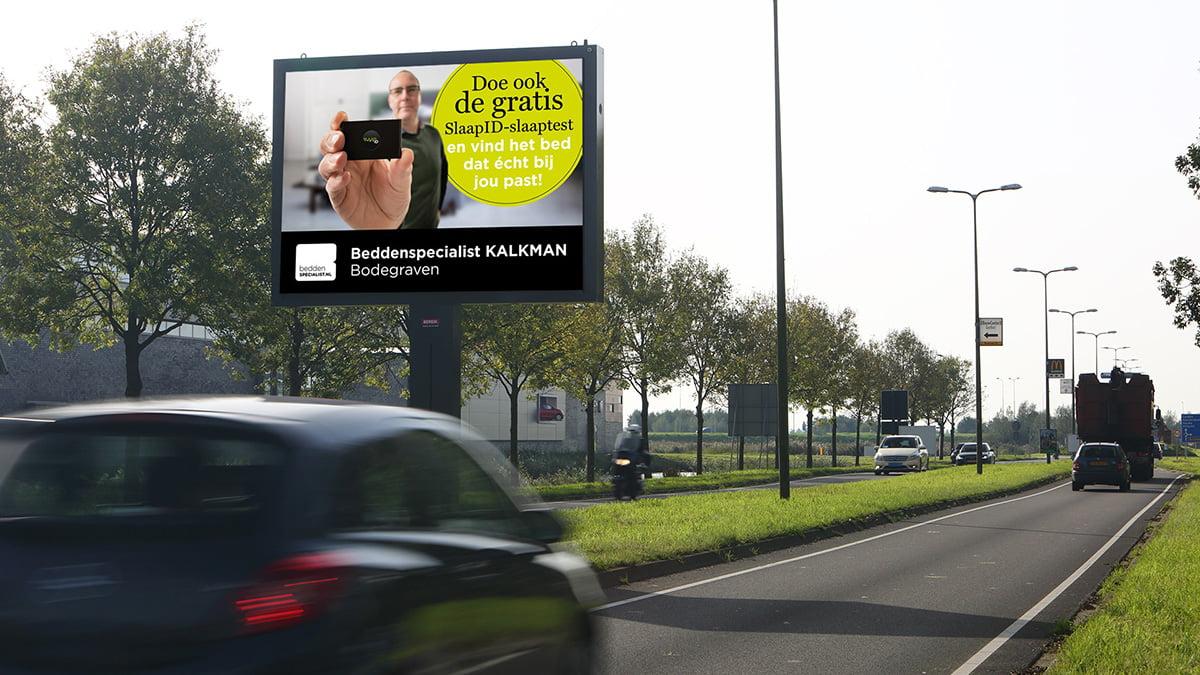 Adverteren in Alphen - goudse Schouw - uitgaand verkeer