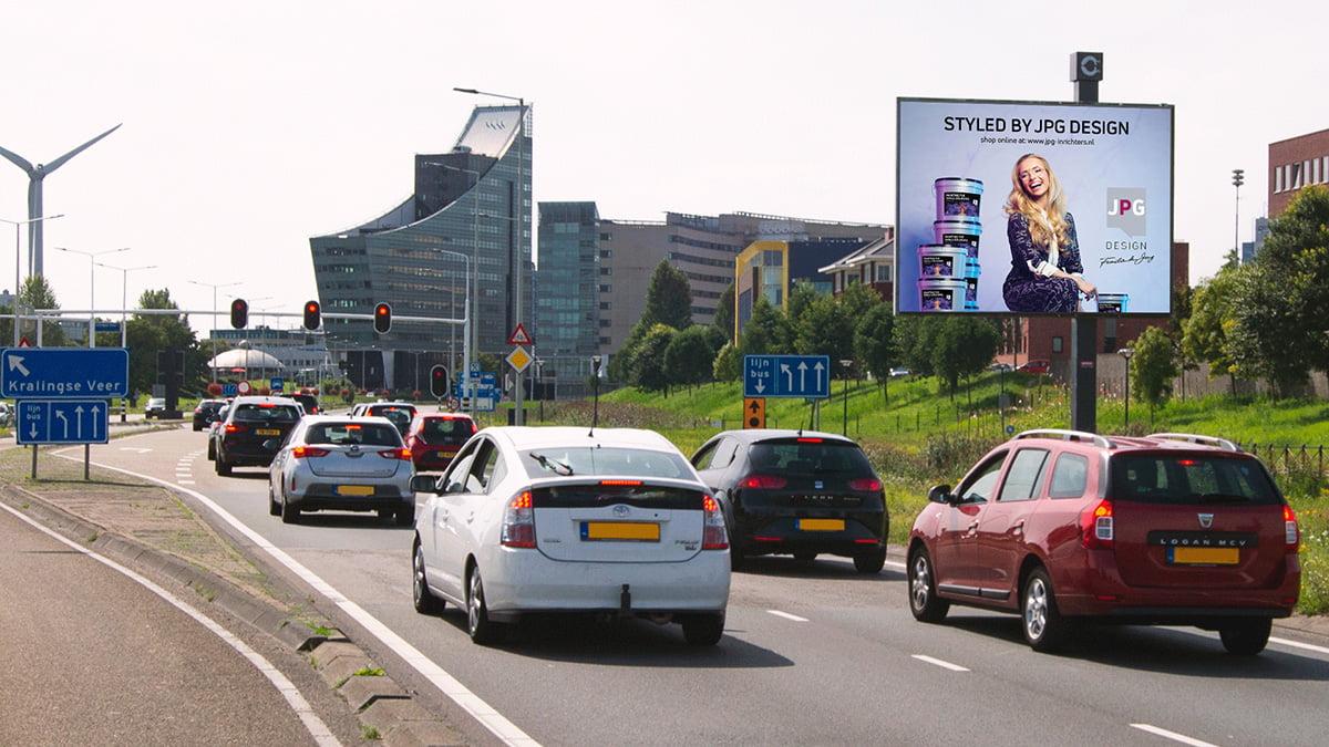 Adverteren in Capelle - Abram van Rijckevorselweg