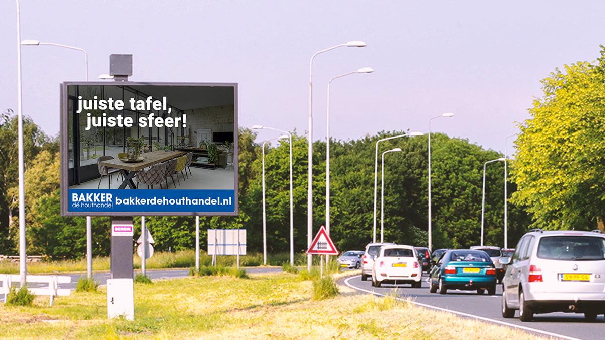 Adverteren in Hoorn - Provincialeweg 2 - uitgaand verkeer