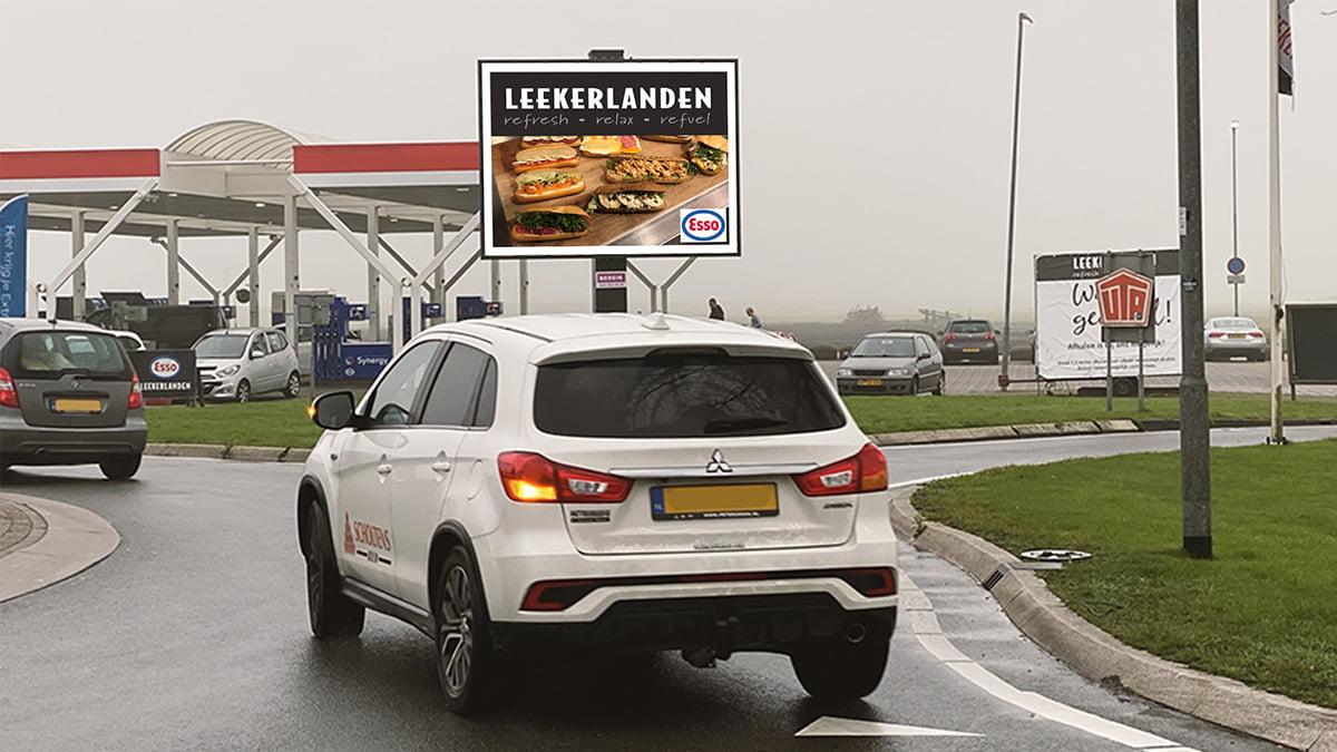 Adverteren in Hoorn - afslag A7 richting Hoorn