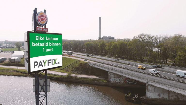 Adverteren langs de A17 Roosendaal - Snelwegreclame