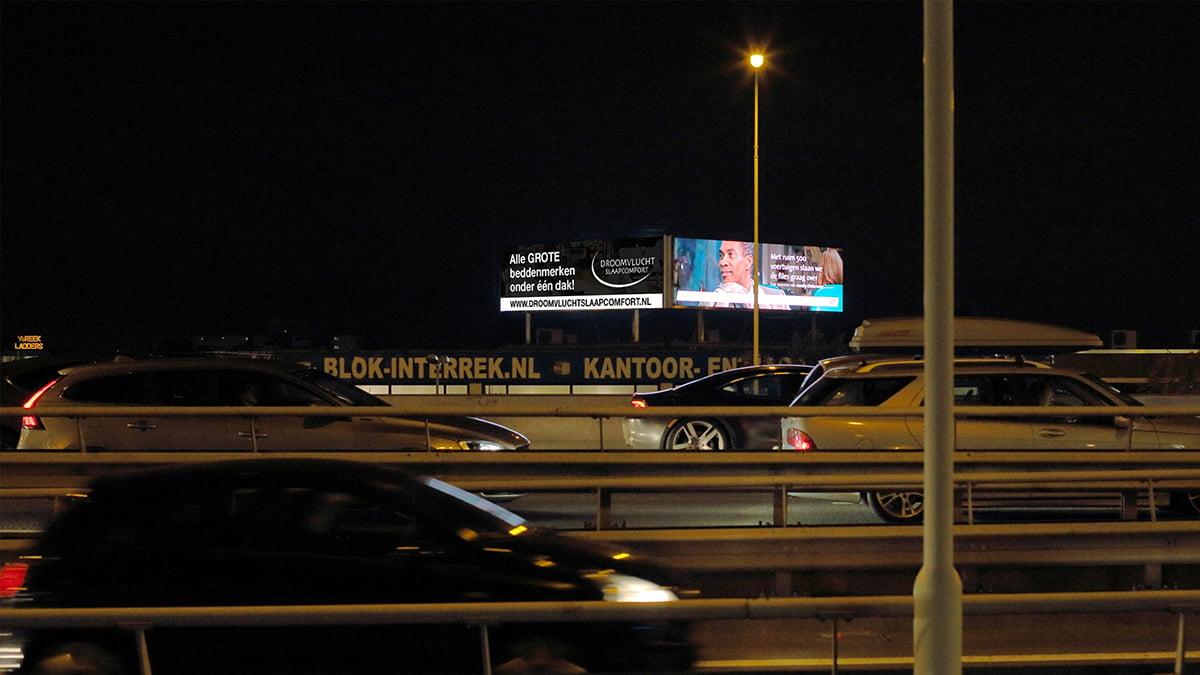 Adverteren langs de A20 - Rotterdam