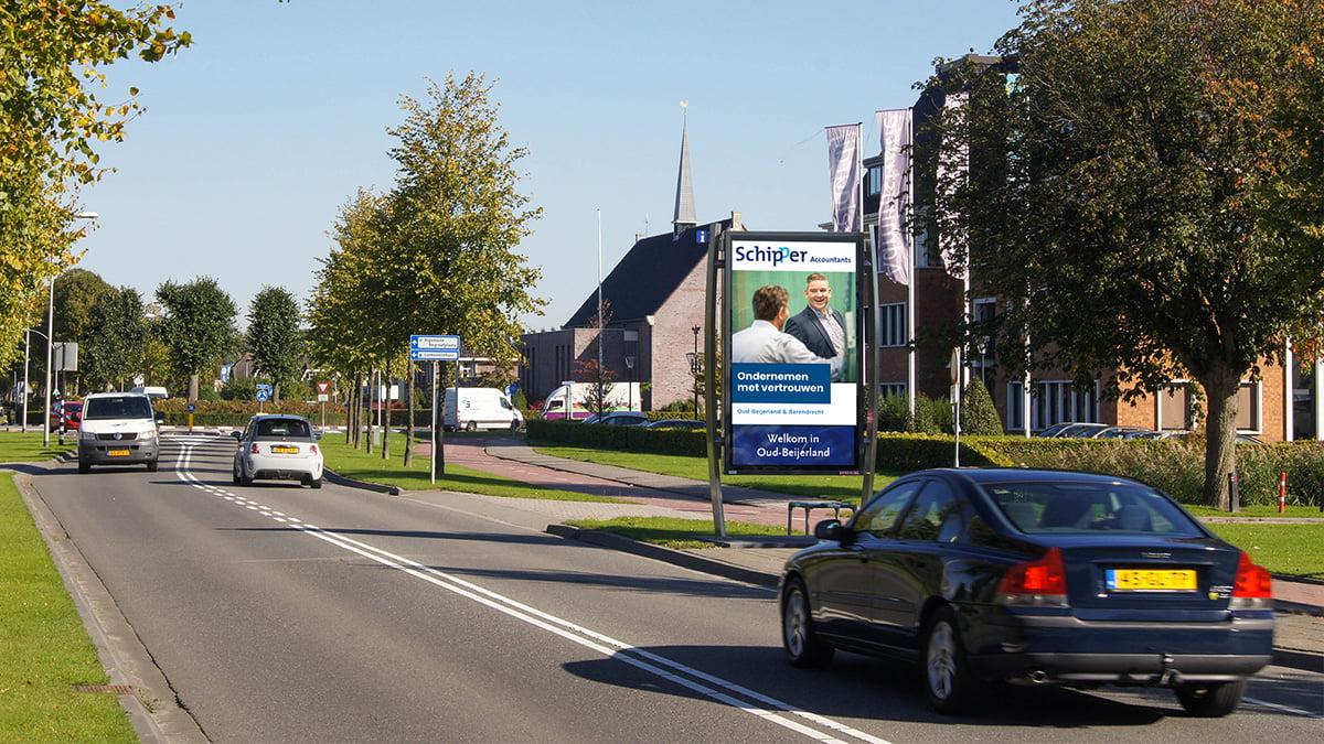 Adverteren in Oud-Beijerland - Langeweg
