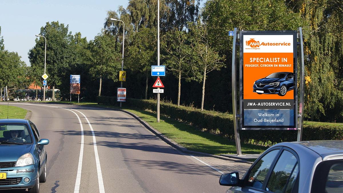 Adverteren in Oud-Beijerland - Randweg
