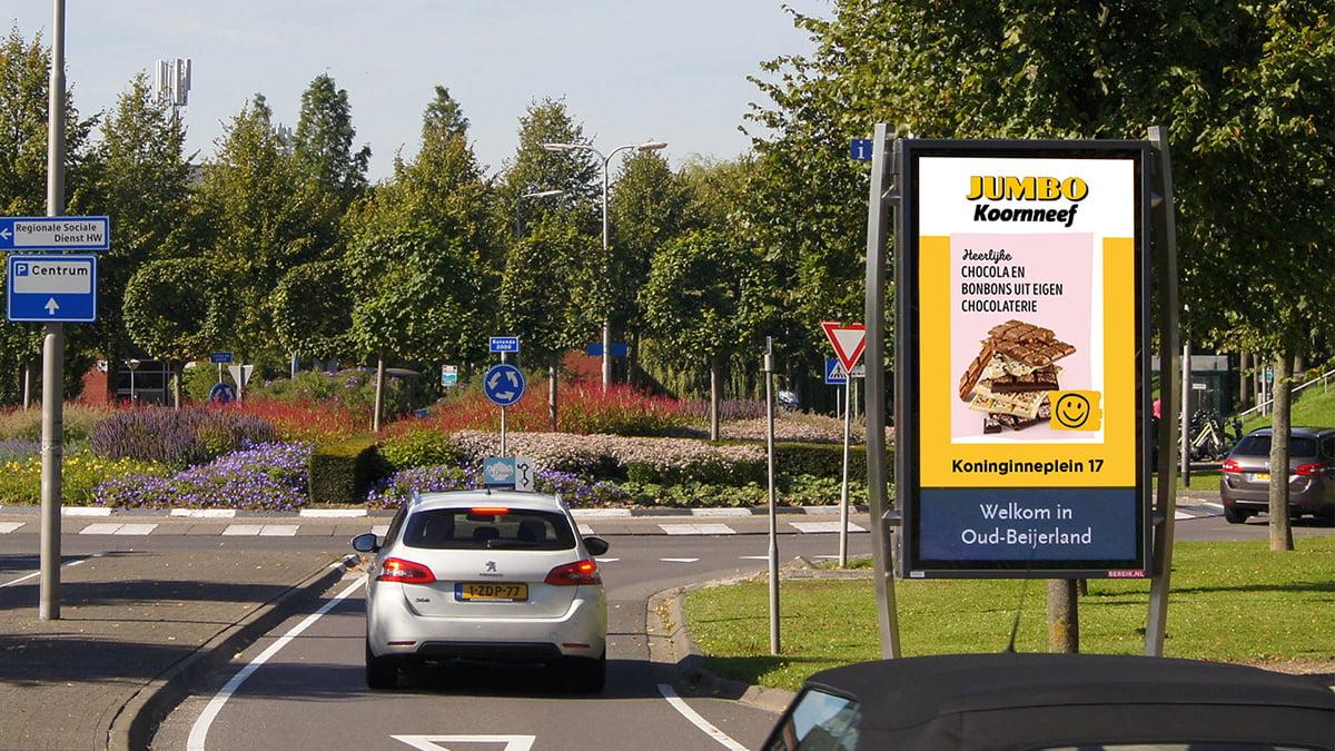 Adverteren in Oud-Beijerland - Rotonde 2000