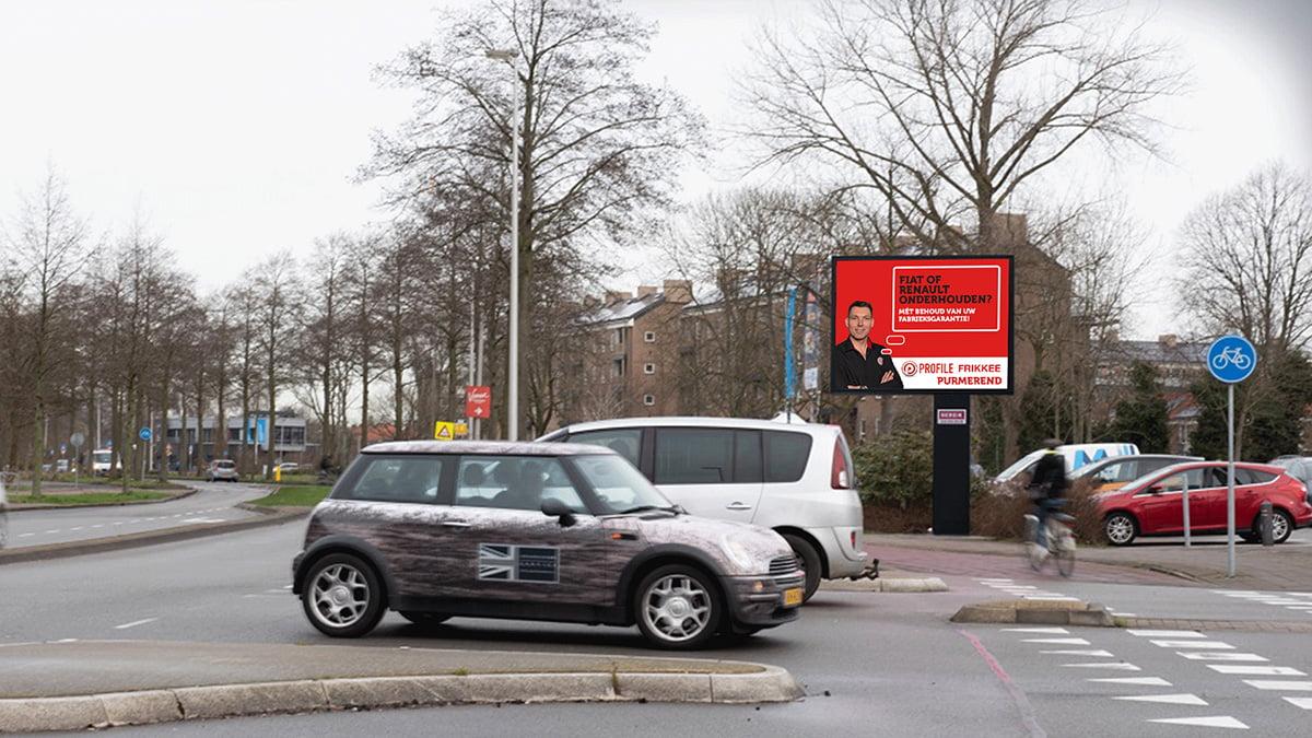 Adverteren in Purmerend - Burgermeester D. Kooimanweg