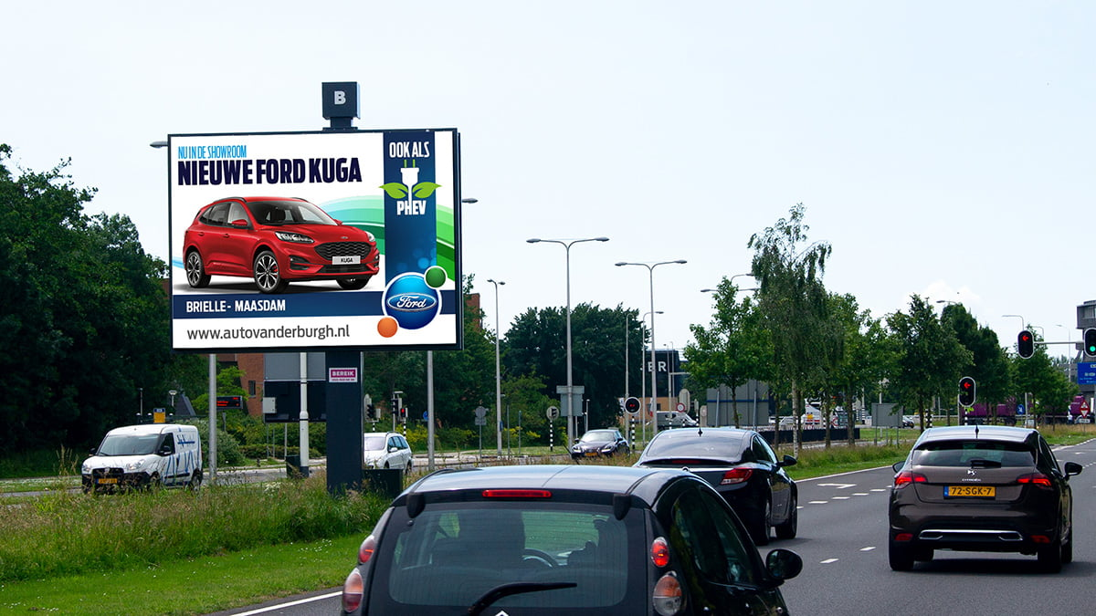 Adverteren in Spijkenisse - Groene Kruisweg
