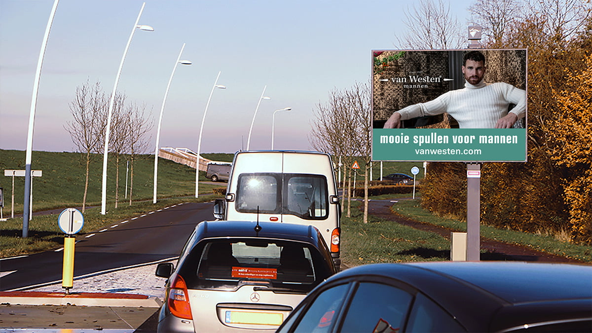Adverteren in Terneuzen - Binnenvaartweg