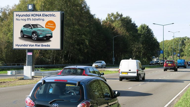 Reclame-uiting - Hyundai dealer Breda