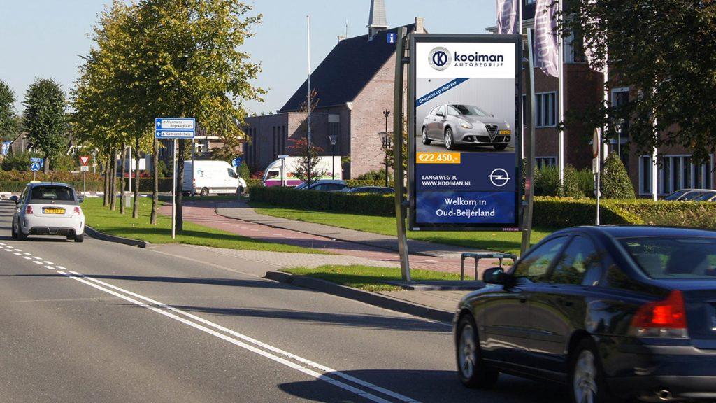 Adverteren in Oud-Beijerland - Autobedrijf Kooiman