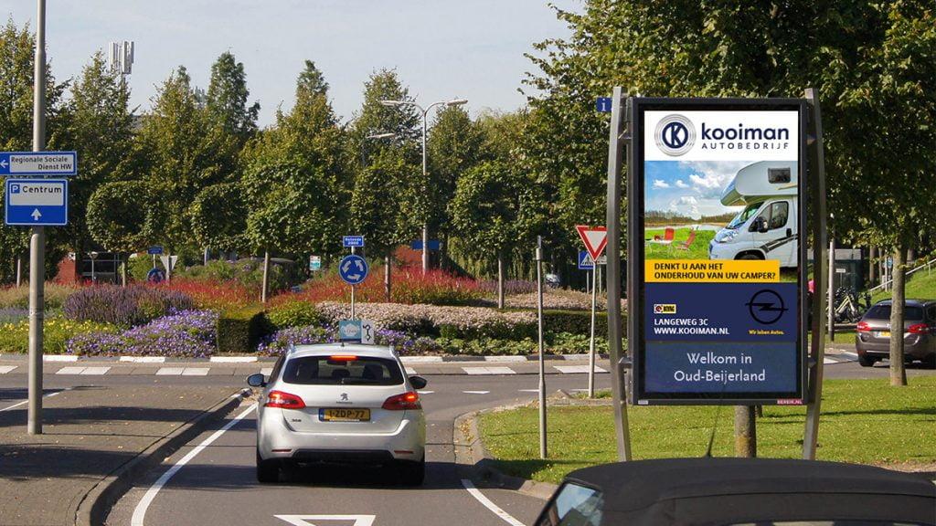 Autobedrijf Kooiman - Rotonde 2000 - Oud-Beijerland