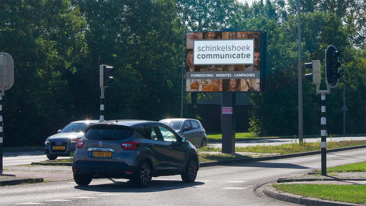 Adverteren in Ridderkerk - Donkerslootweg Havenstraat UIT